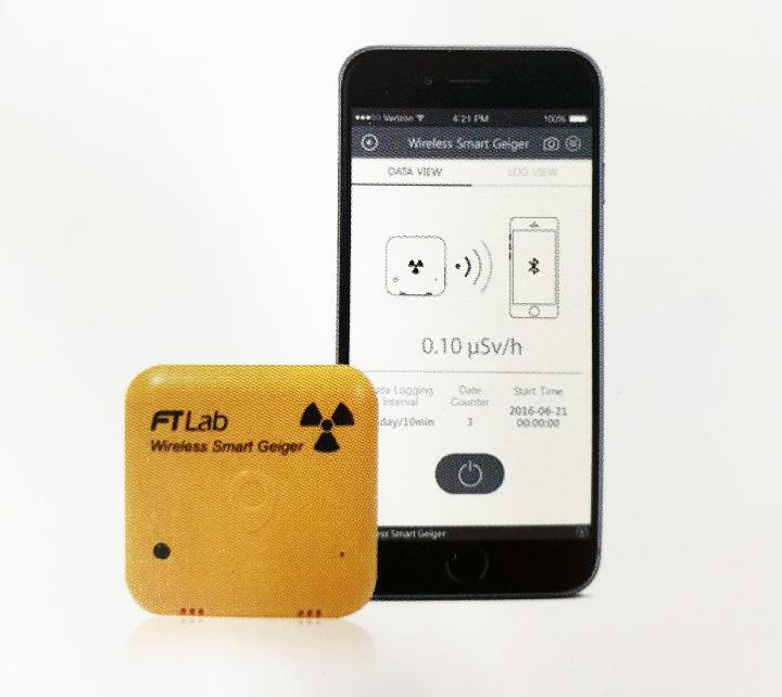 Wireless Geiger Counter (BSC-001)